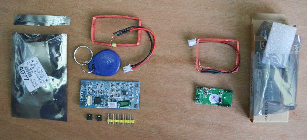 125kHz RFID reader comparison - HZ-1050 vs RDM6300 - Vince's
