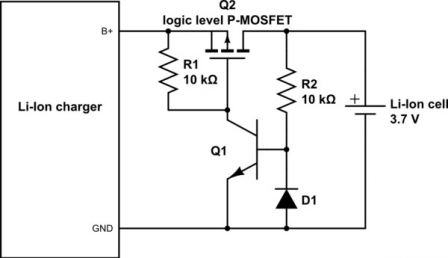 Image result for mosfet reverse battery charger protection